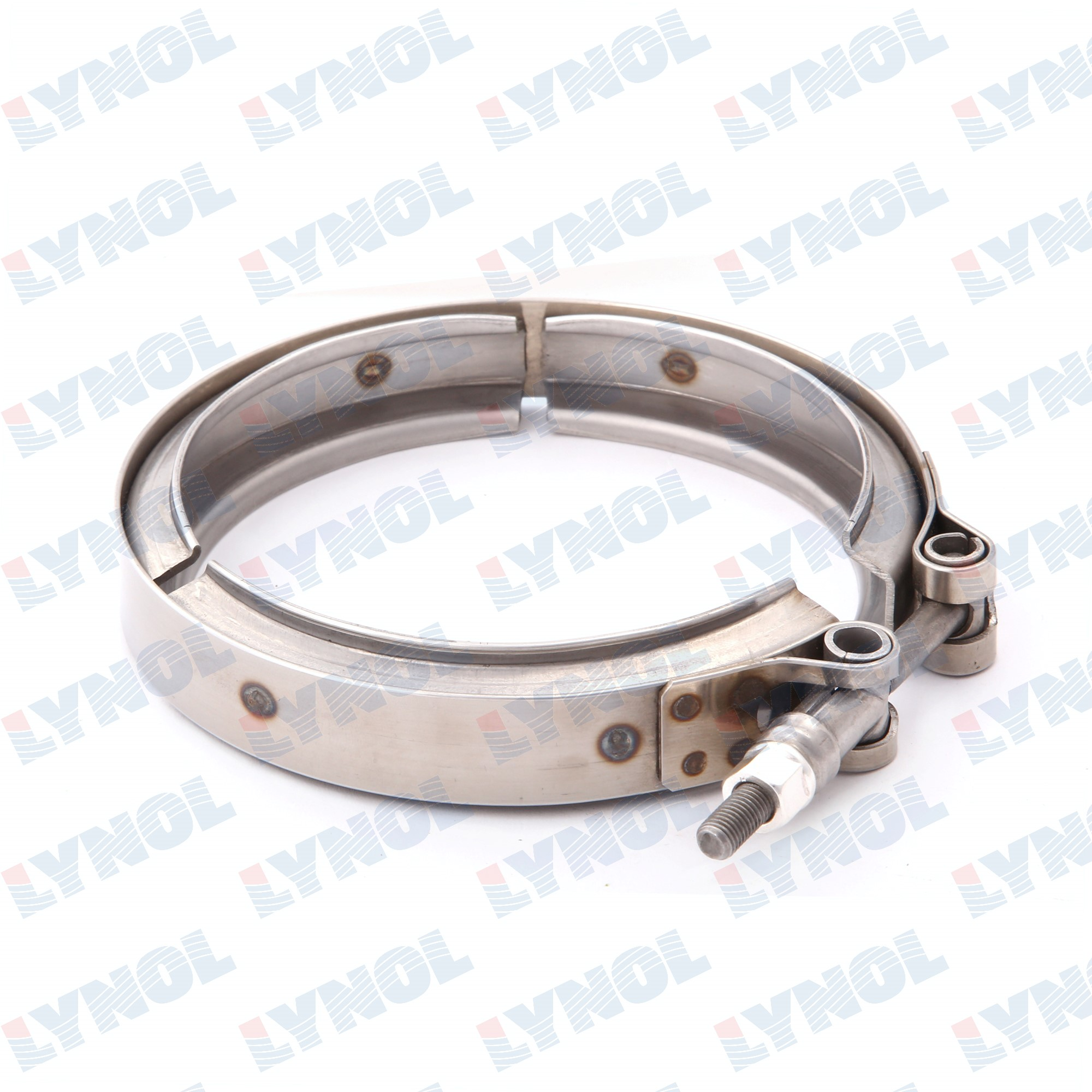 "4502011 - CLAMP - Cummins 3896337/ Mack 21048521 4"" V-band Clamp"
