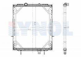 2205-011 - 2205-003 FRAMED VERSION, 02-07 Mack CV Granite Series 95-04 Mack RD Series