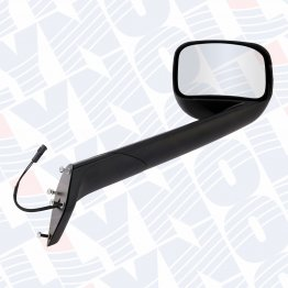 5000-024 - 2018 Freightliner Cascadia Hood Mirror / Color: Black / Right only